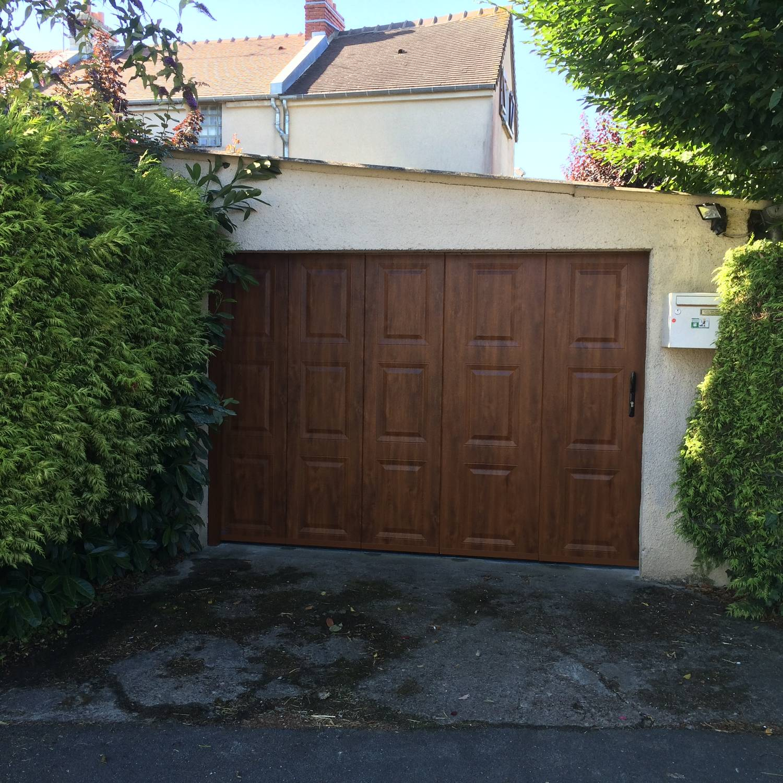 Porte de garage coulissante in deco - Porte de garage coulissante alu ...
